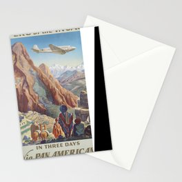 Vintage poster - Peru Stationery Cards