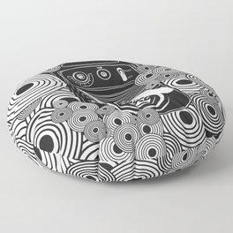 Lost In Music Floor Pillow