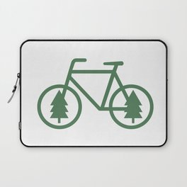 Pacific Northwest Cycling - Bike, Bicycle, Portland, PDX, Seattle, Washington, Oregon, Portlandia Laptop Sleeve
