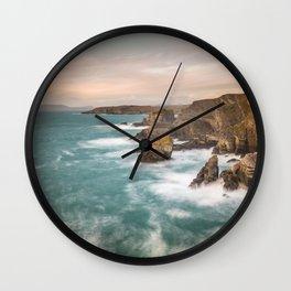 Mizen Head, Cork, Ireland Wall Clock
