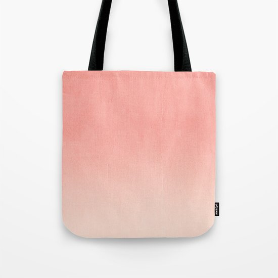 Coral ombre trendy girly trend college life dorm decor office minimalism by charlottewinter