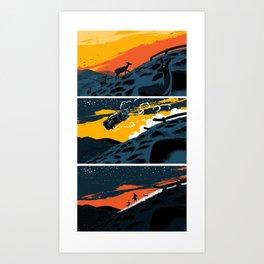 Route 142 Art Print