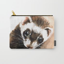 Ferret portrait Carry-All Pouch