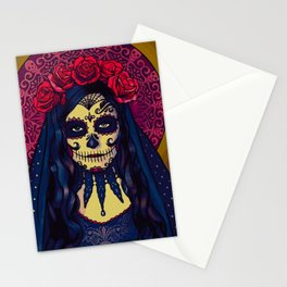 Des Muertos Goddess Stationery Cards