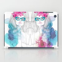 glasses iPad Cases featuring Glasses by Camis Gray