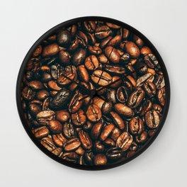 coffee floor Wall Clock