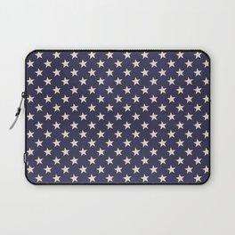 Navy Stars Laptop Sleeve