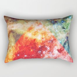 Stars on Fire Rectangular Pillow