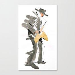 Musician Jazz Saxophone Canvas Print