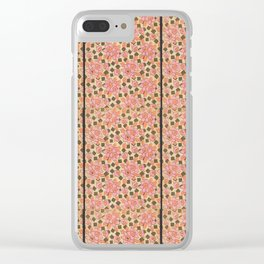 Pink Ophelia Clear iPhone Case