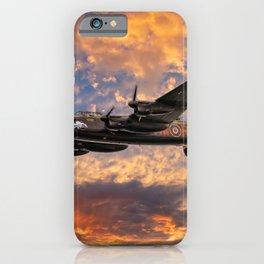 Avro Lancaster Bomber iPhone Case