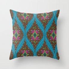teardrop pattern Throw Pillow