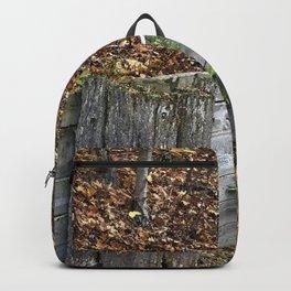Wood Wall Backpack