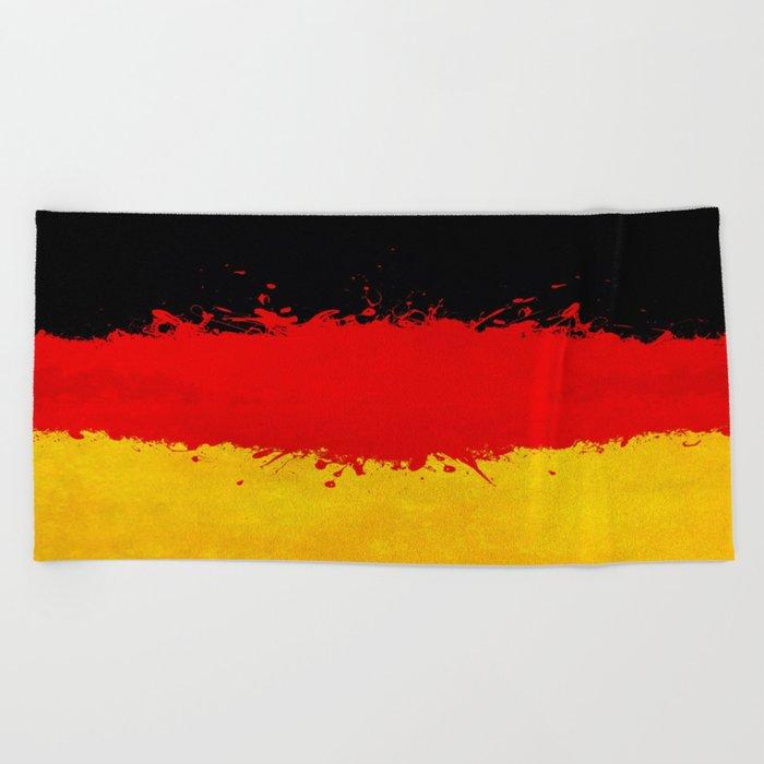 Germany Beach Towel