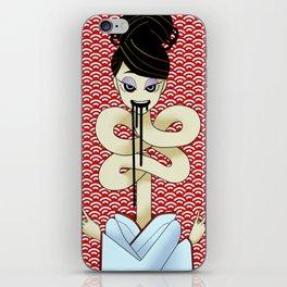 Rokurokubi iPhone Skin