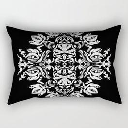 Abstract Flora Rectangular Pillow
