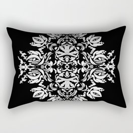Abstract Flora Rectangular Pillow