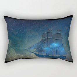 Ships and Stars Rectangular Pillow