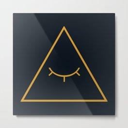 cipher Metal Print