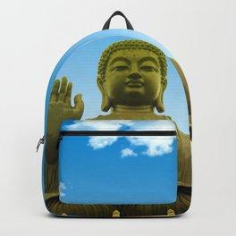 Hong Kong golden grand buddha Backpack