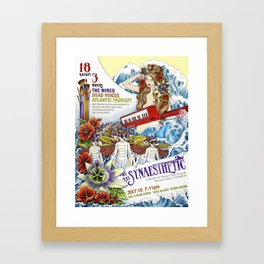 We Are Synaesthetic Framed Art Print