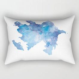 Azerbaijan Rectangular Pillow