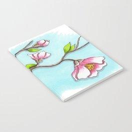 Almond Tree Notebook