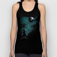 The Girl That Holds The World Unisex Tank Top