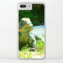 Iguana and Chill Clear iPhone Case