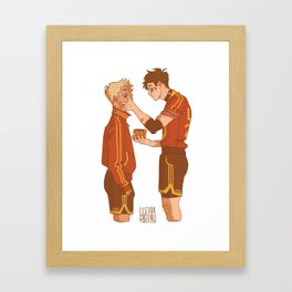 Jeremy & Jean Framed Art Print
