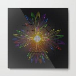 Light and energy - sunset Metal Print