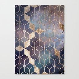 Golden storm Canvas Print