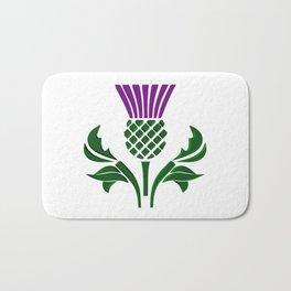 Scottish emblem thistle Bath Mat
