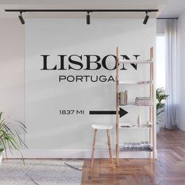 Lisbon Wall Mural