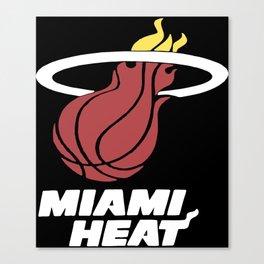 Basketball Women's Heat volleyball T-Shirts Canvas Print