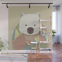 Whimsical Wombat II Wall Mural