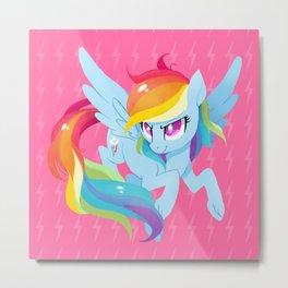 rainbow power Metal Print