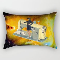 Barbara's Spaceship Rectangular Pillow