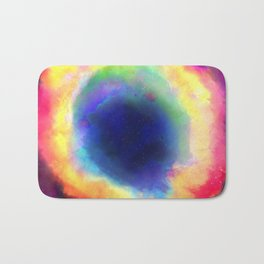 Donut Nebula Bath Mat