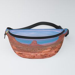 Westward Dreams - Sunset in Monument Valley Fanny Pack