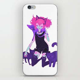 unHOLY | neon iPhone Skin