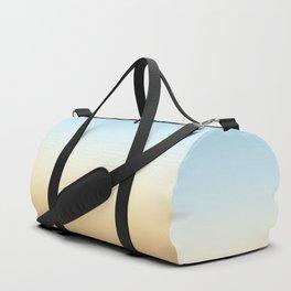 beach color gradient Duffle Bag
