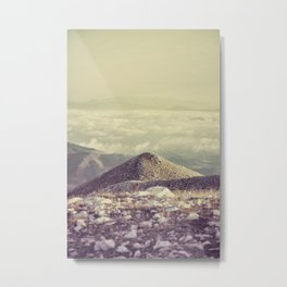 Mountains in the background IV Metal Print