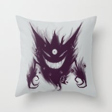 Mega Ghost Throw Pillow