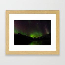Northern Lights in Norway 01 Framed Art Print
