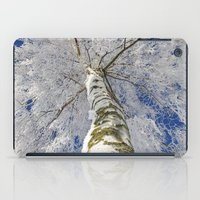 john snow iPad Cases featuring Snow worlds by Tanja Riedel