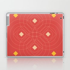 SOUND! Circle Square Pattern (Girl) Laptop & iPad Skin