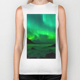 Northern Lights (Aurora Borealis) 5. Biker Tank