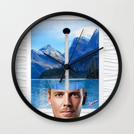 Headspace Wall Clock