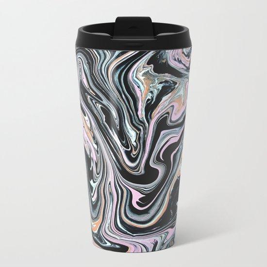 Have a little Swirl Metal Travel Mug